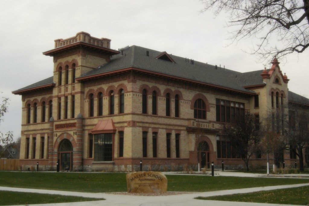 Maeser School Apartments November 2006