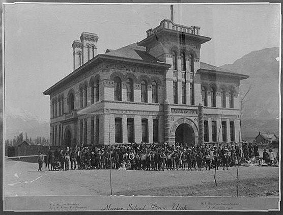 Maeser School, circa 1900