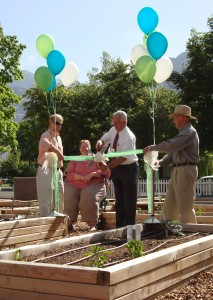 Ribbon Cutting for North Park Community Gardens at Mountain View Apartments