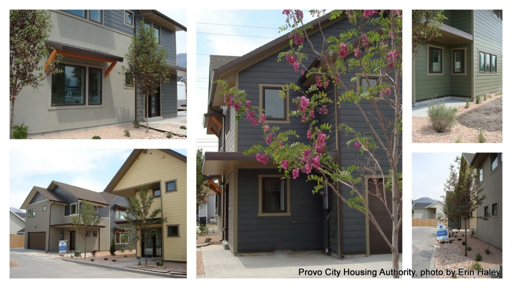 New Day Homes: Five New Energy Efficient Homes in Sunset Neighborhood in Provo, Utah