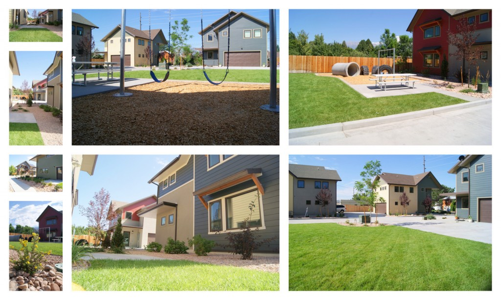 New Day Homes- Playground and Landscaping